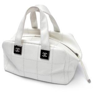 Bolsa Chanel Branca Mão