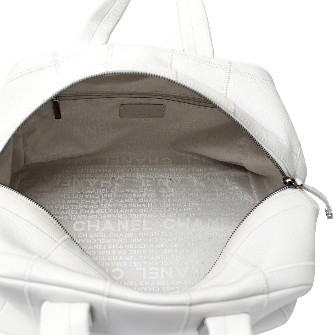 Bolsa De Mao Chanel : Bolsa chanel branca m?o box de grife