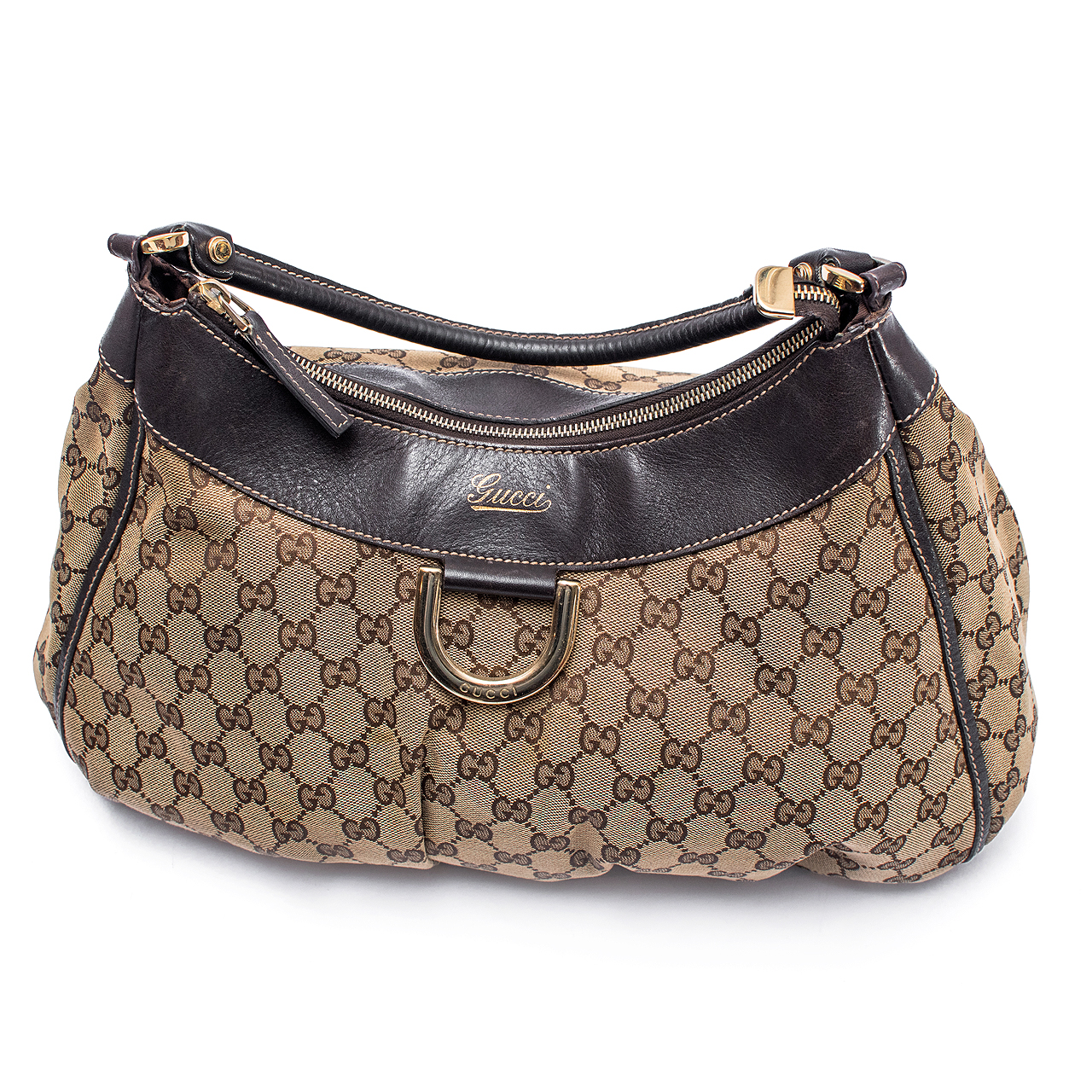 6a3d9631963 Bolsa Gucci Large D Hobo