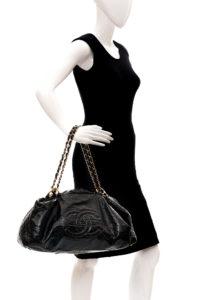 Bolsa Chanel Preta Verniz