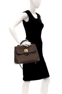 Bolsa Louis Vuitton Marrom Alças