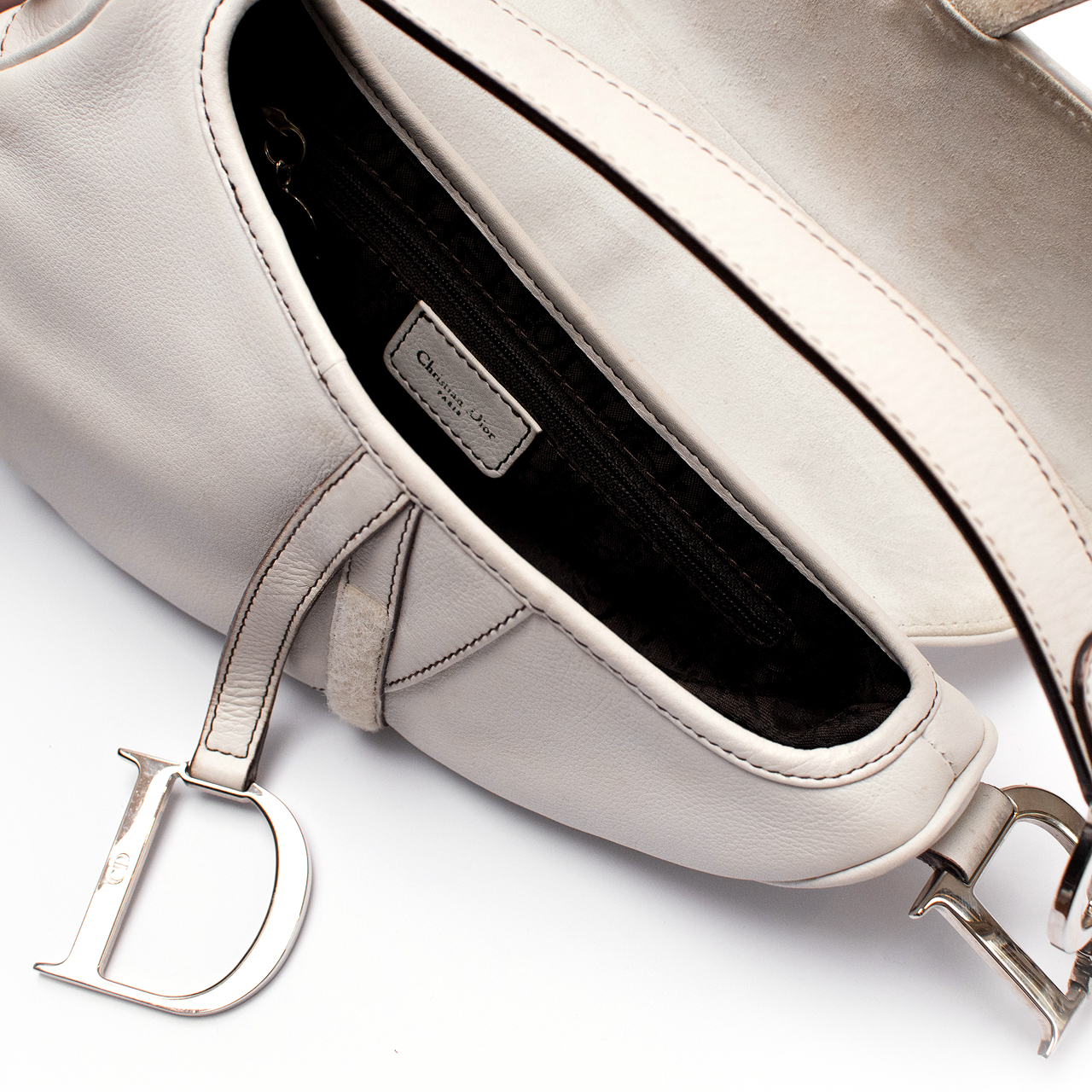 17b3382bc9b Bolsa Christian Dior Saddle Pristine