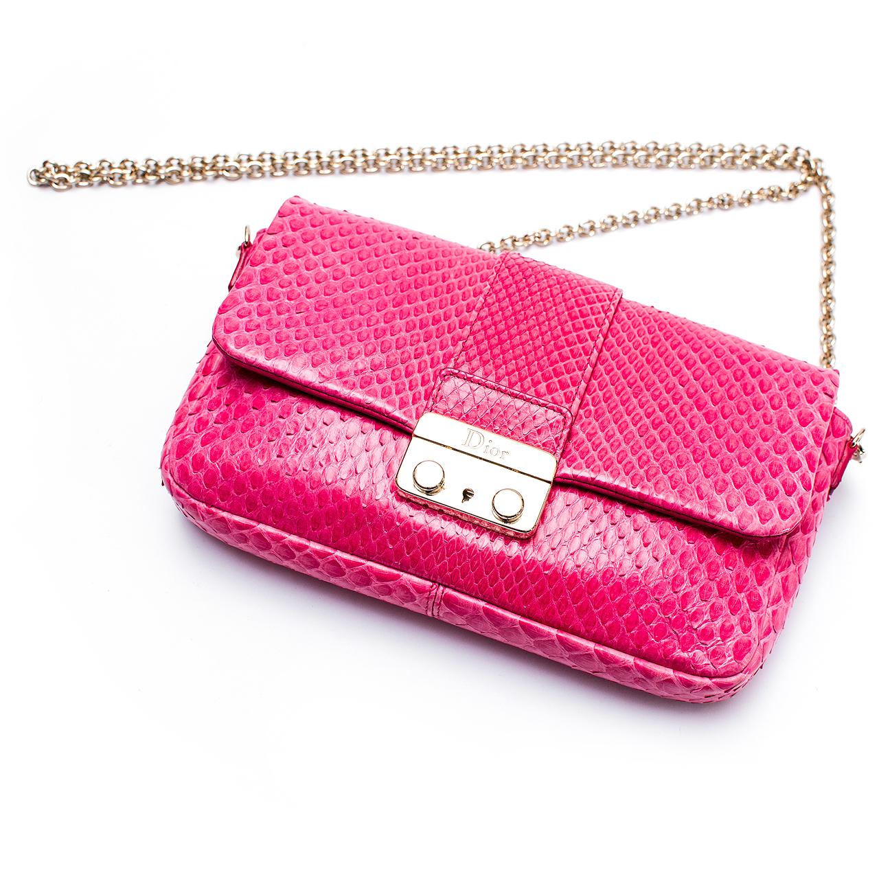5afed6ff4 Bolsa Dior New Look Python Promenade | Box de Grife
